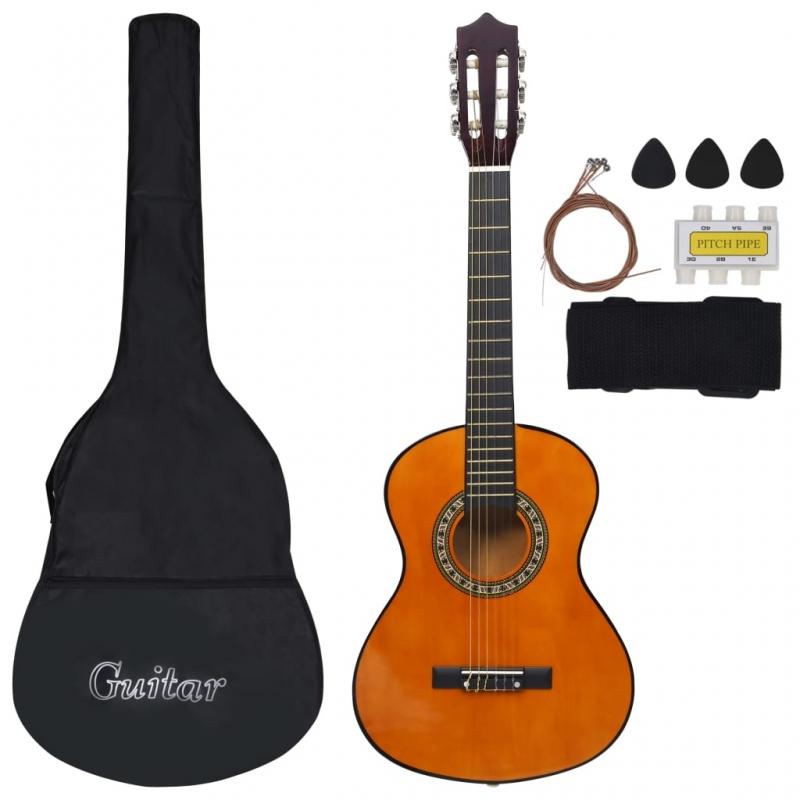 8-tlg. Klassikgitarren-Set für Kinder und Anfänger 1/2 34