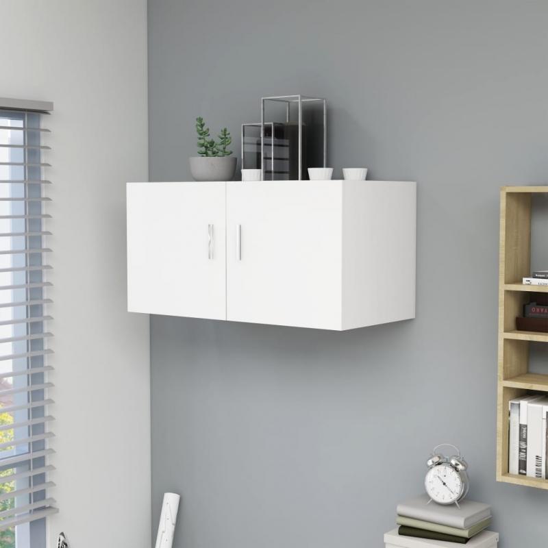 Wandschrank Weiß 80 x 39 x 40 cm Spanplatte