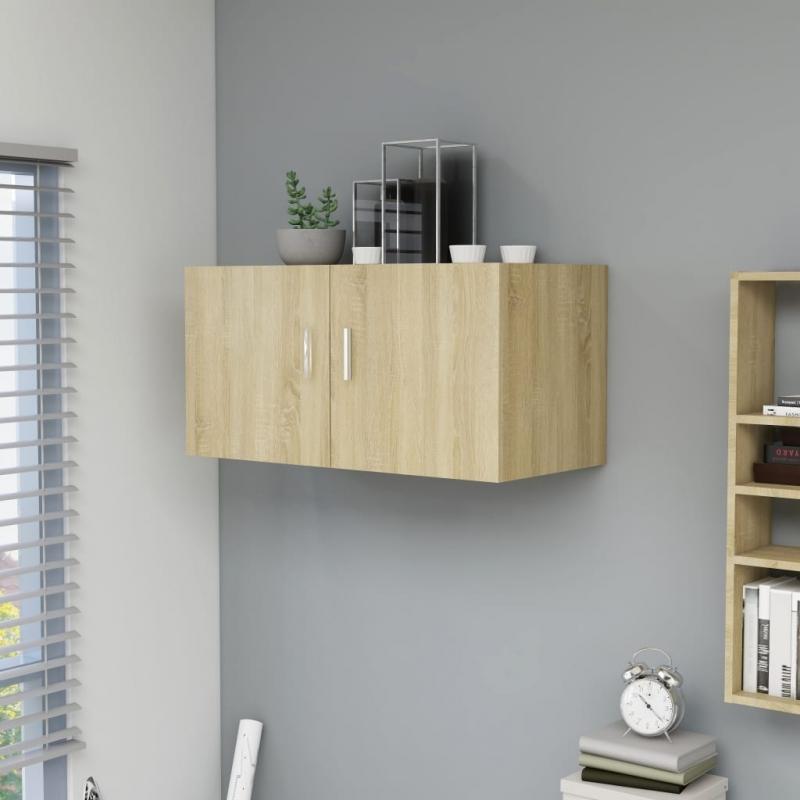 Wandschrank Sonoma-Eiche 80 x 39 x 40 cm Spanplatte