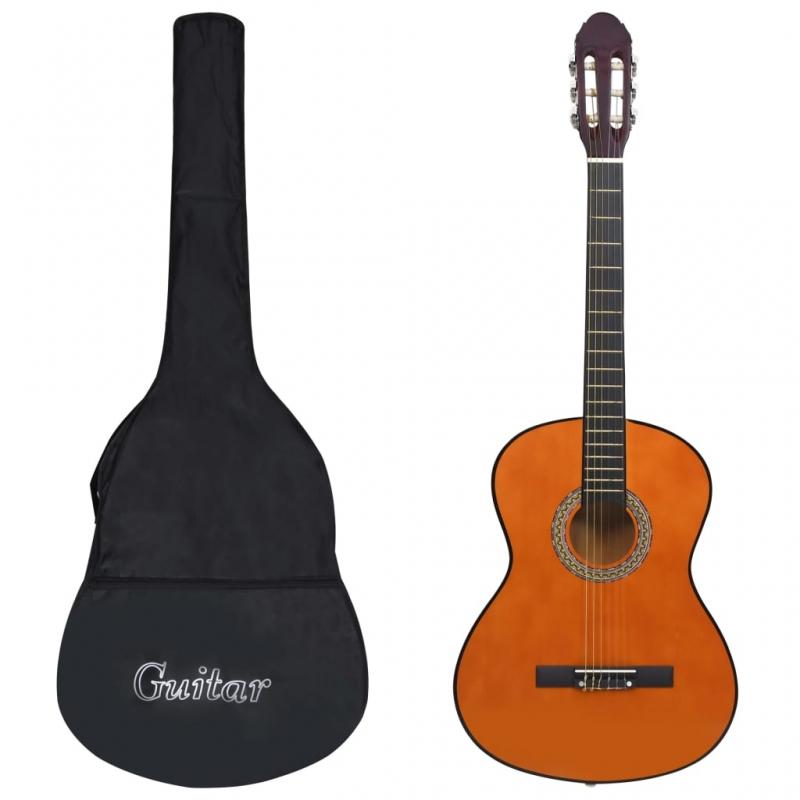 Klassikgitarre für Anfänger mit Tasche 4/4 39