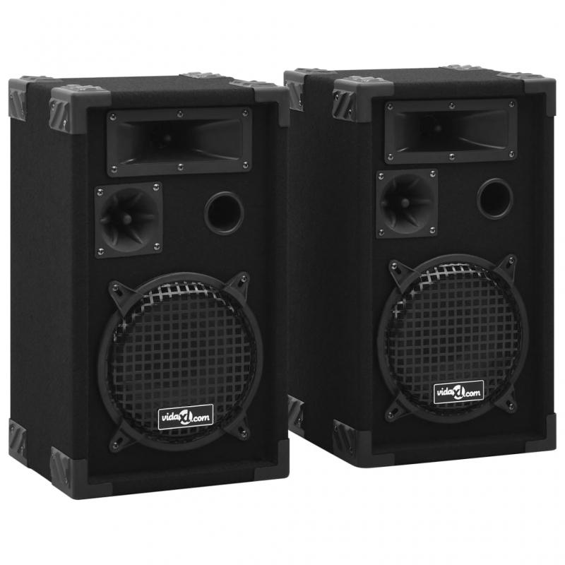 Professionelle HiFi-/Bühnen-Lautsprecher Passiv 2 Stk. 800 W