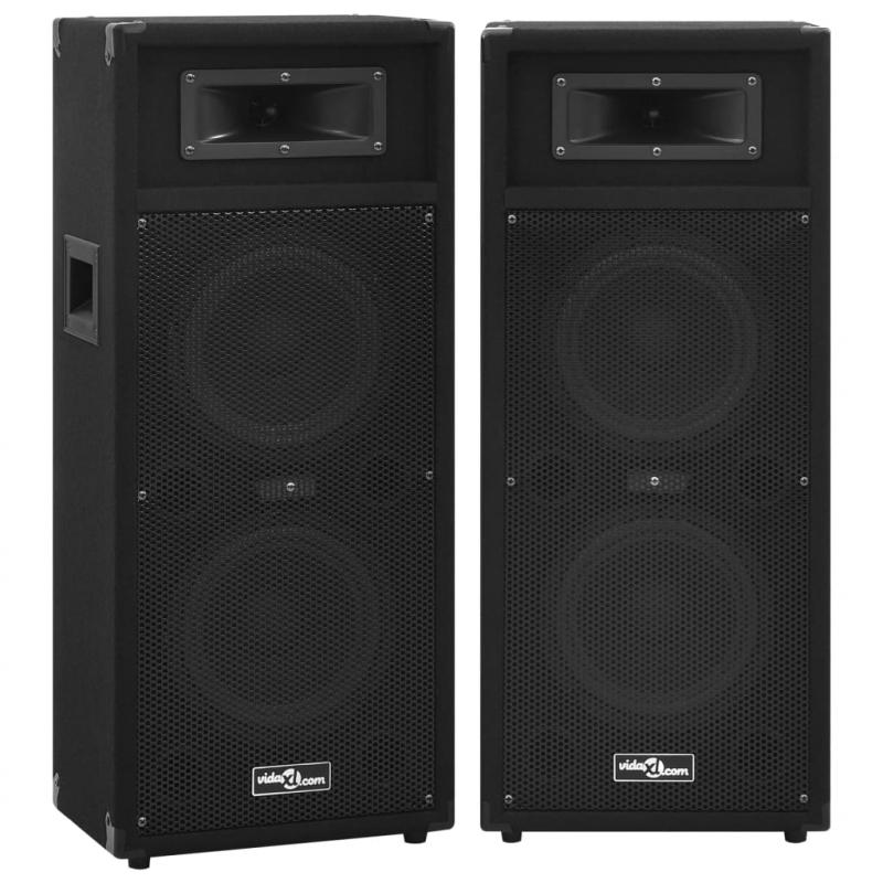 Professionelle HiFi-/Bühnen-Lautsprecher Passiv 2 Stk. 1000 W
