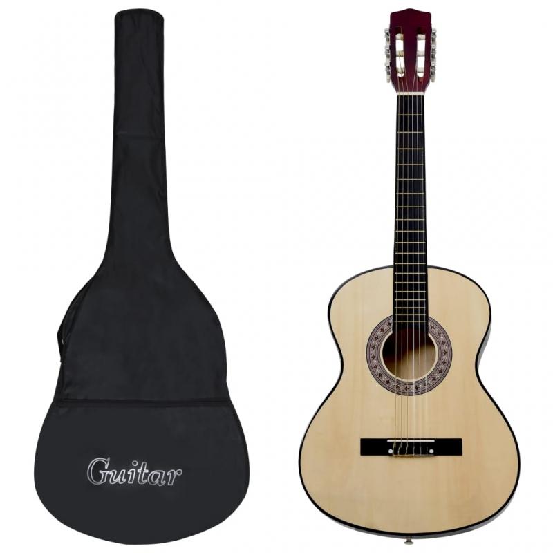 Klassikgitarre für Anfänger mit Tasche 3/4 36