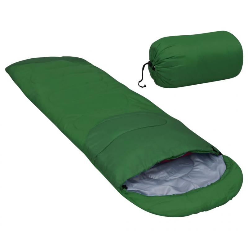 Leichter Schlafsack Grün 15? 850g