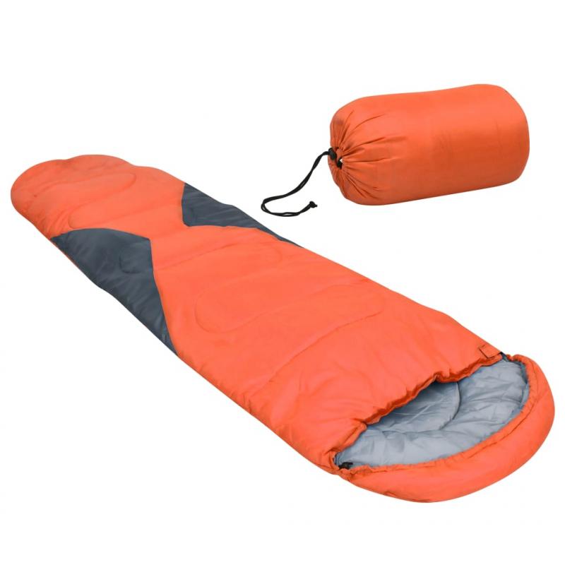Schlafsack Orange 5? 1400g