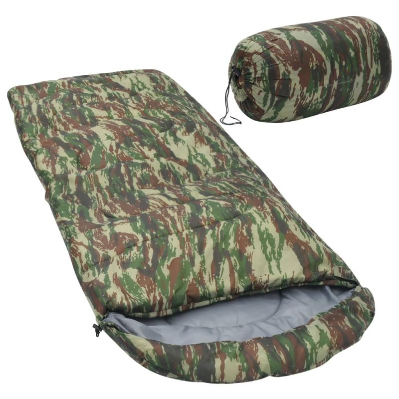 Schlafsack Camouflage 10? 1000g