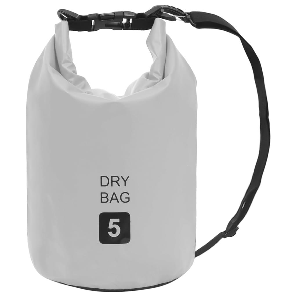 Trockensack Grau 5 L PVC