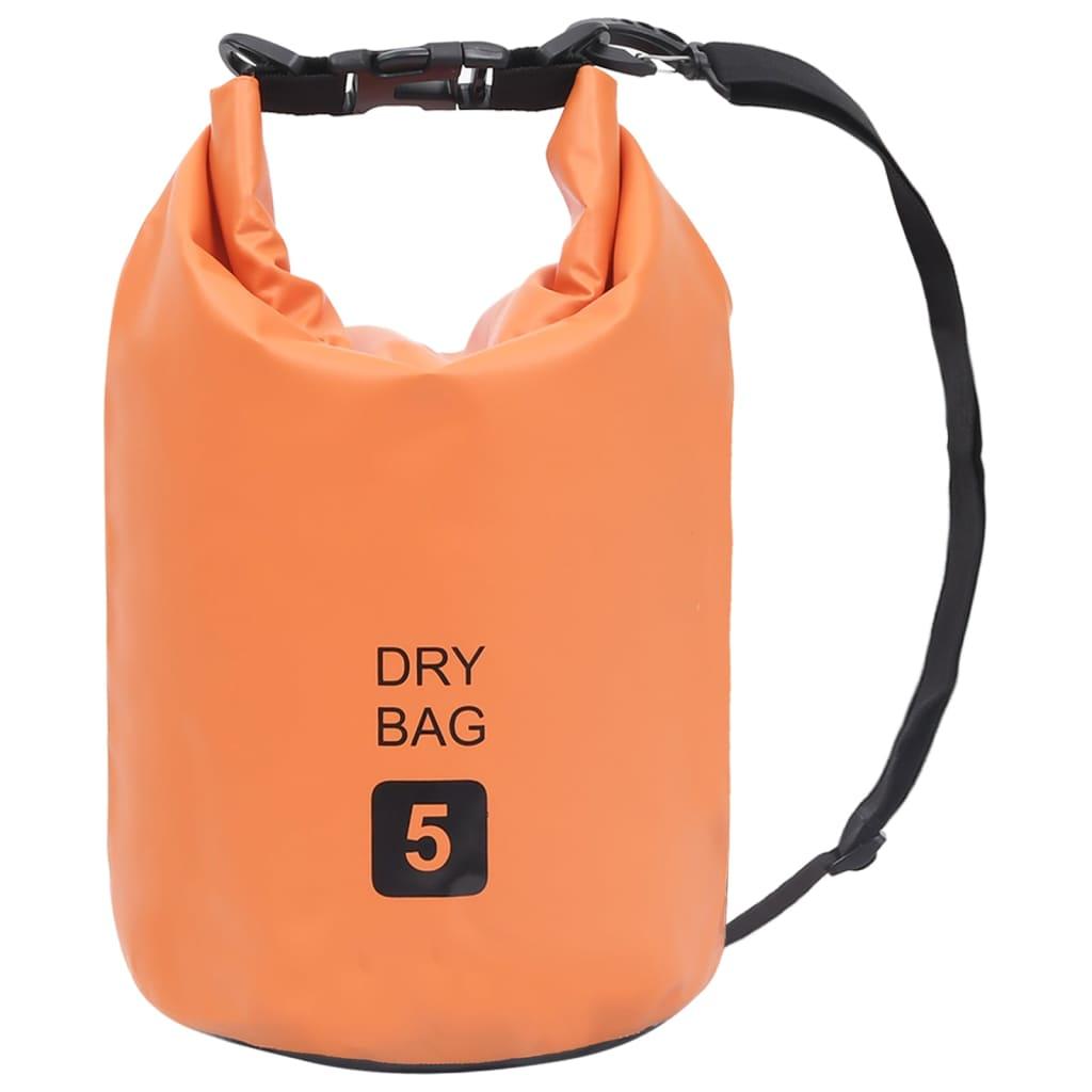 Trockensack Orange 5 L PVC