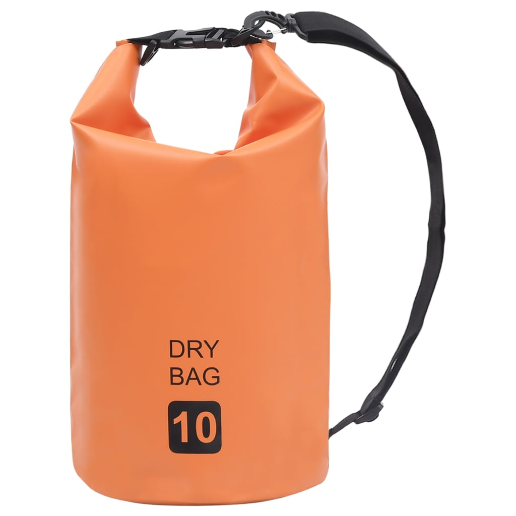 Trockensack Orange 10 L PVC