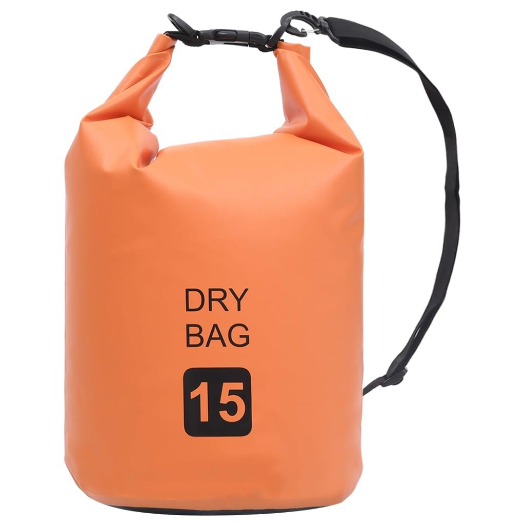 Trockensack Orange 15 L PVC