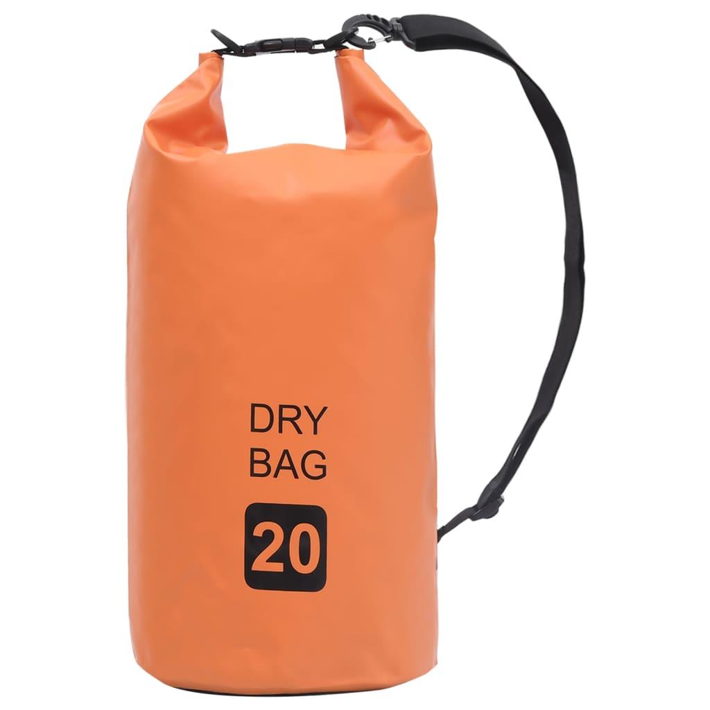 Trockensack Orange 20 L PVC