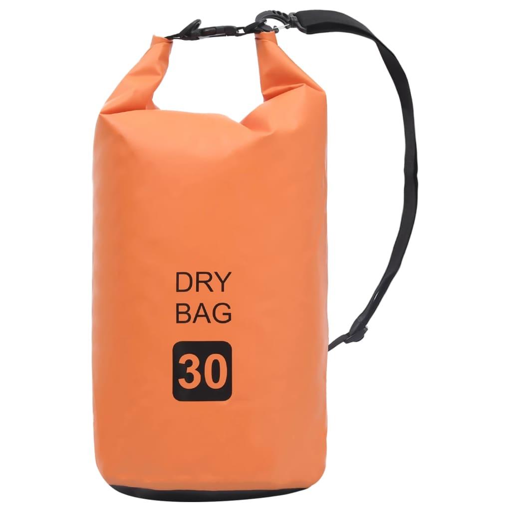 Trockensack Orange 30 L PVC
