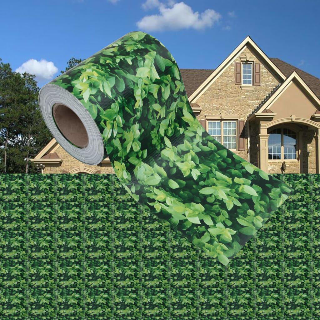 Garten-Sichtschutz PVC 70x0,19 m Grün