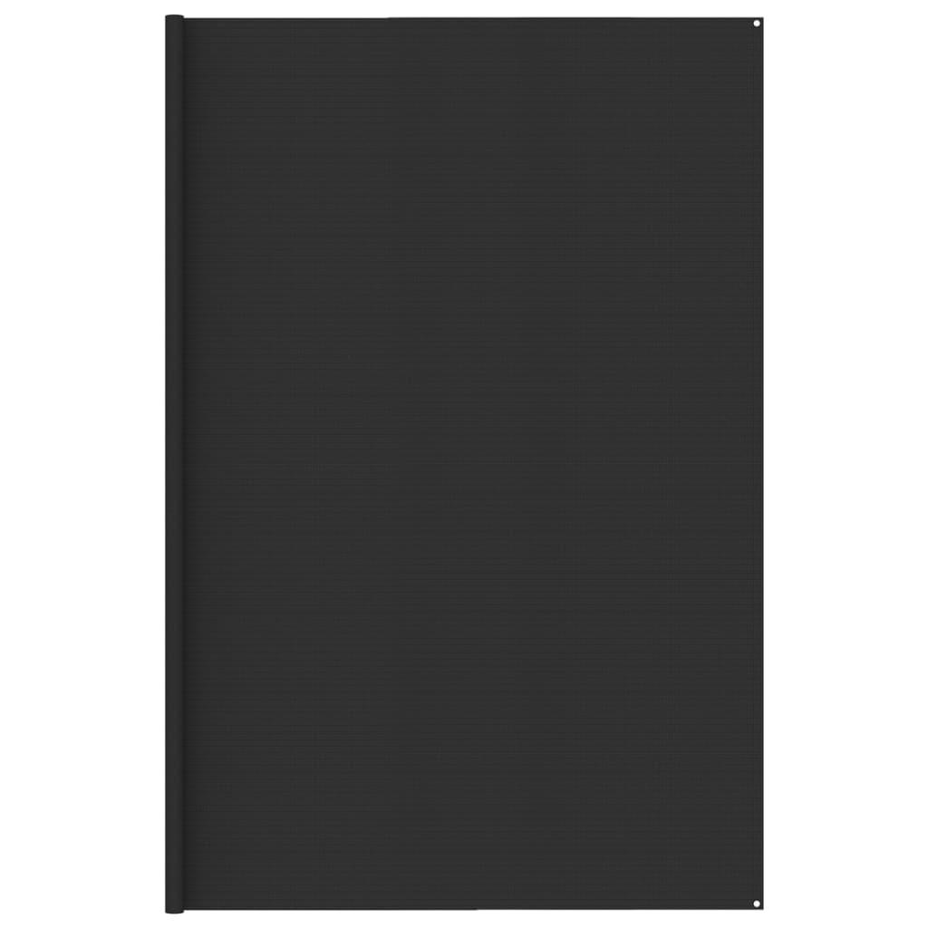 Zeltteppich 400x500 cm Anthrazit