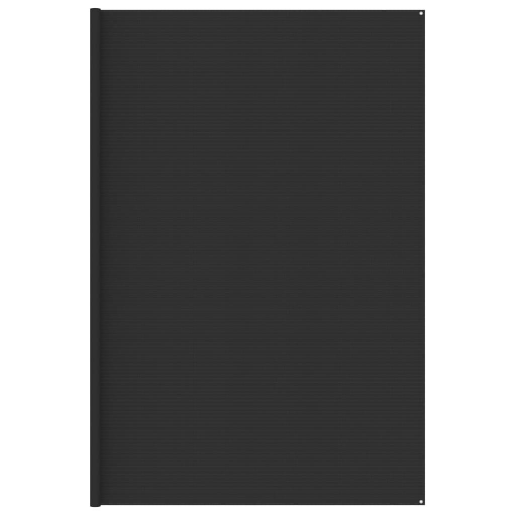 Zeltteppich 400x600 cm Anthrazit