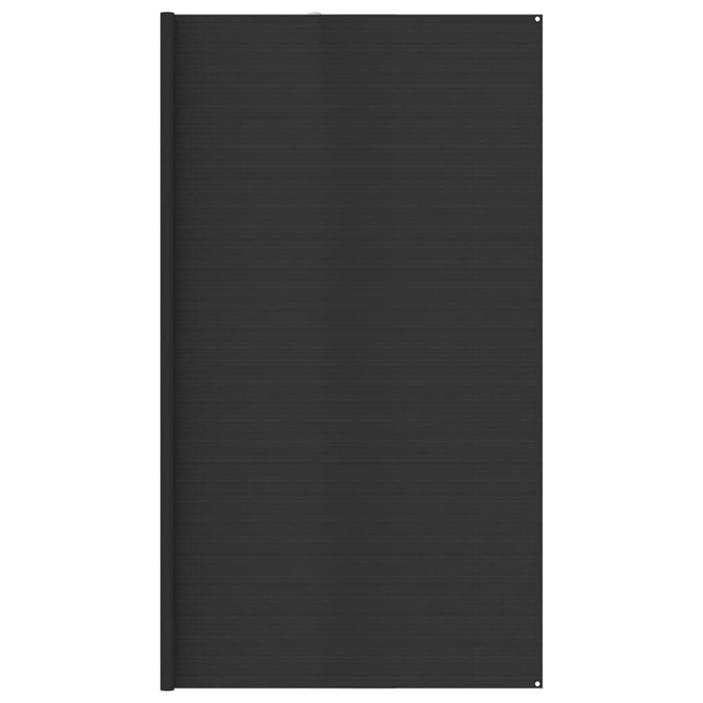 Zeltteppich 400x700 cm Anthrazit