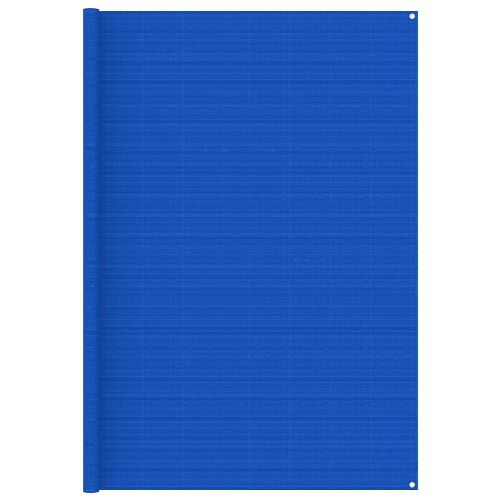 Zeltteppich 250x400 cm Blau