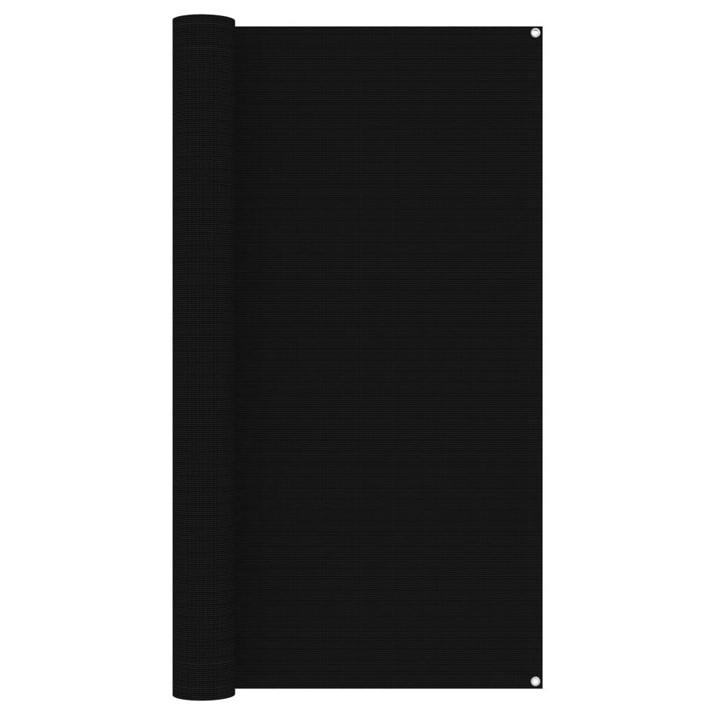 Zeltteppich 200x300 cm Schwarz