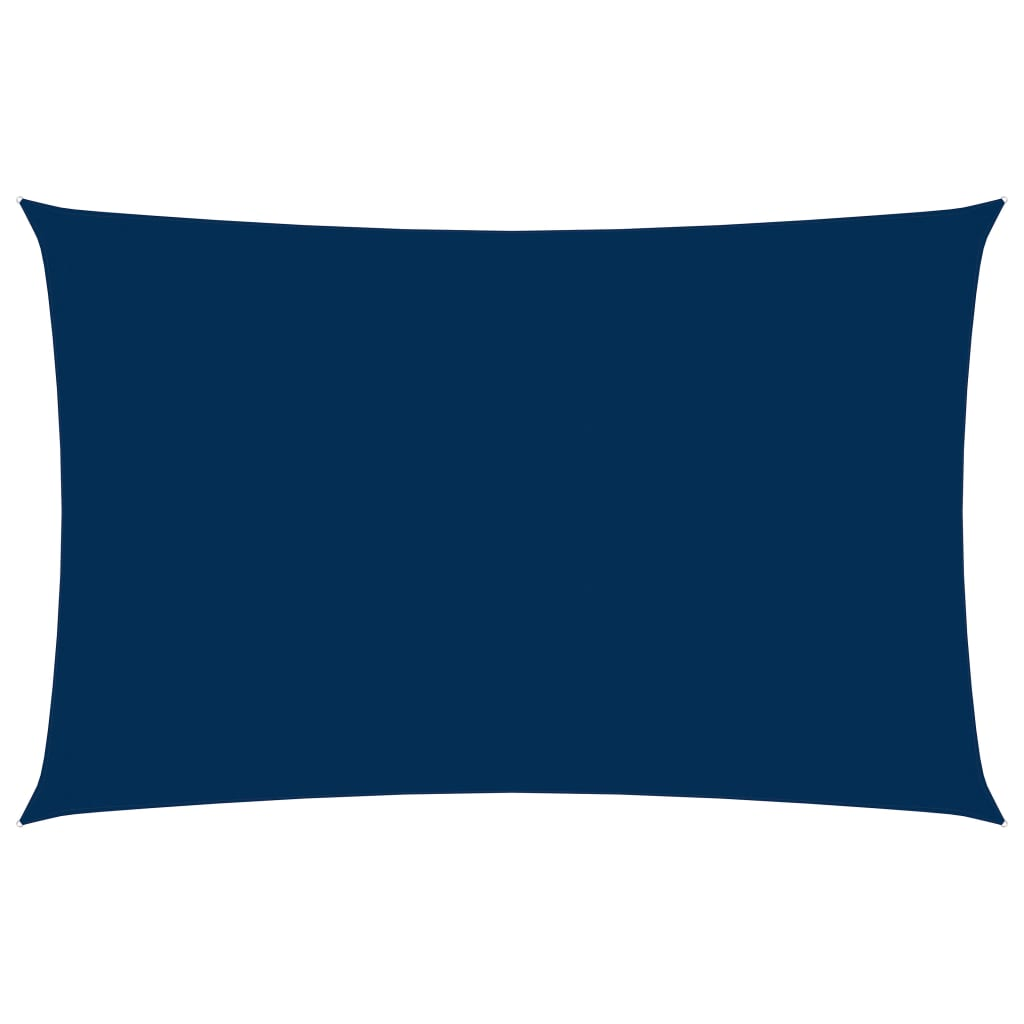 Sonnensegel Oxford-Gewebe Rechteckig 2x5 m Blau