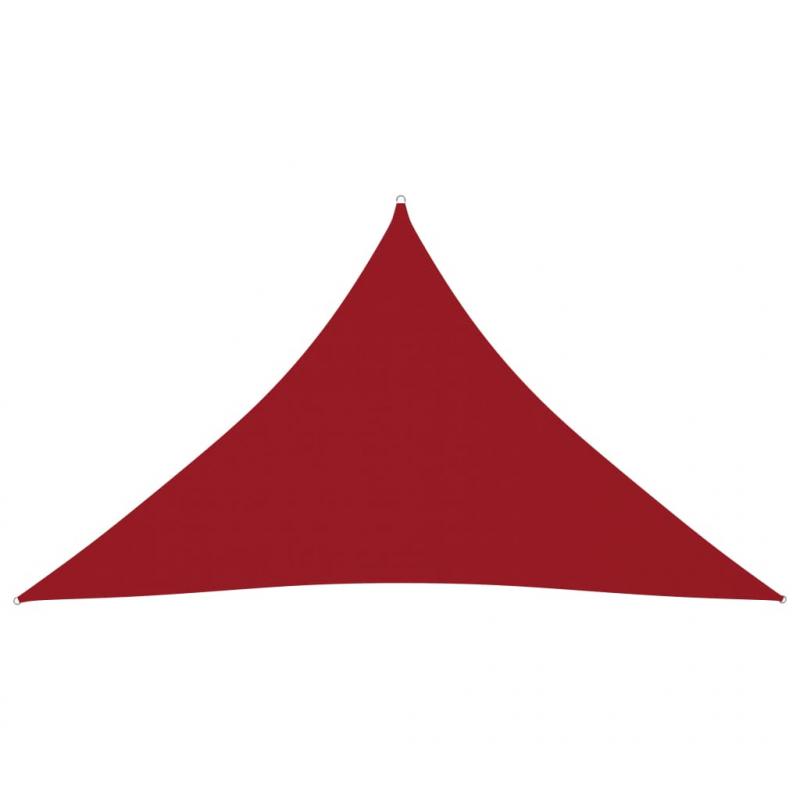 Sonnensegel Oxford-Gewebe Dreieckig 3x3x4,24 m Rot