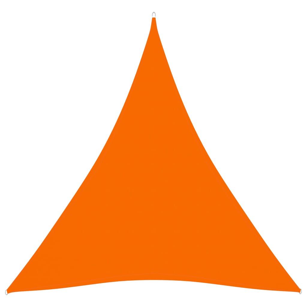 Sonnensegel Oxford-Gewebe Dreieckig 4x4x4 m Orange