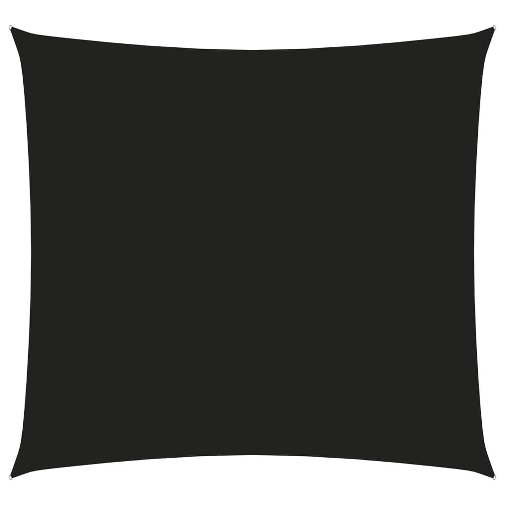Sonnensegel Oxford-Gewebe Quadratisch 2x2 m Schwarz
