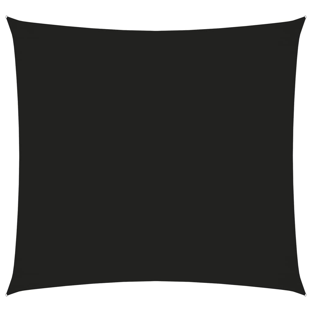 Sonnensegel Oxford-Gewebe Quadratisch 4x4 m Schwarz