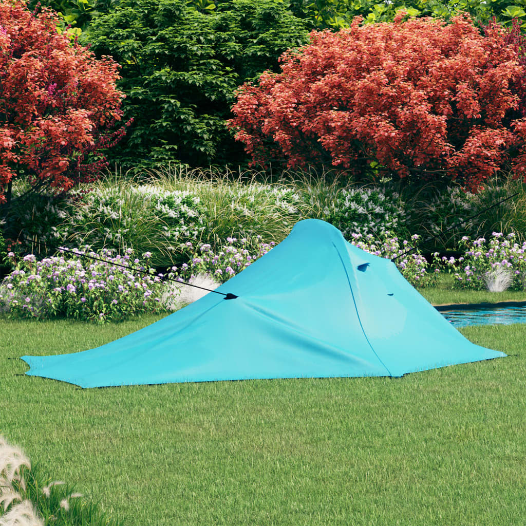 Campingzelt 317x240x100 cm Blau