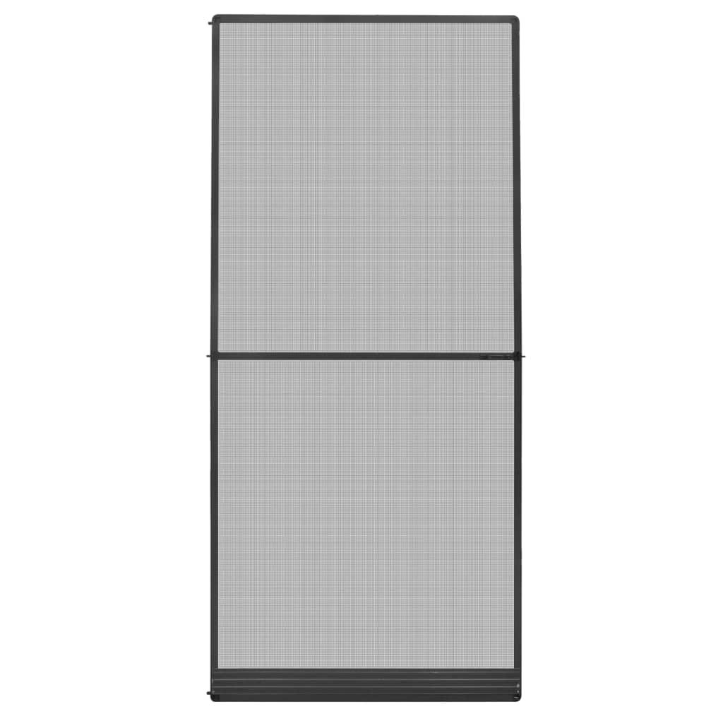 Insektenschutz für Türen Anthrazit 100x215 cm