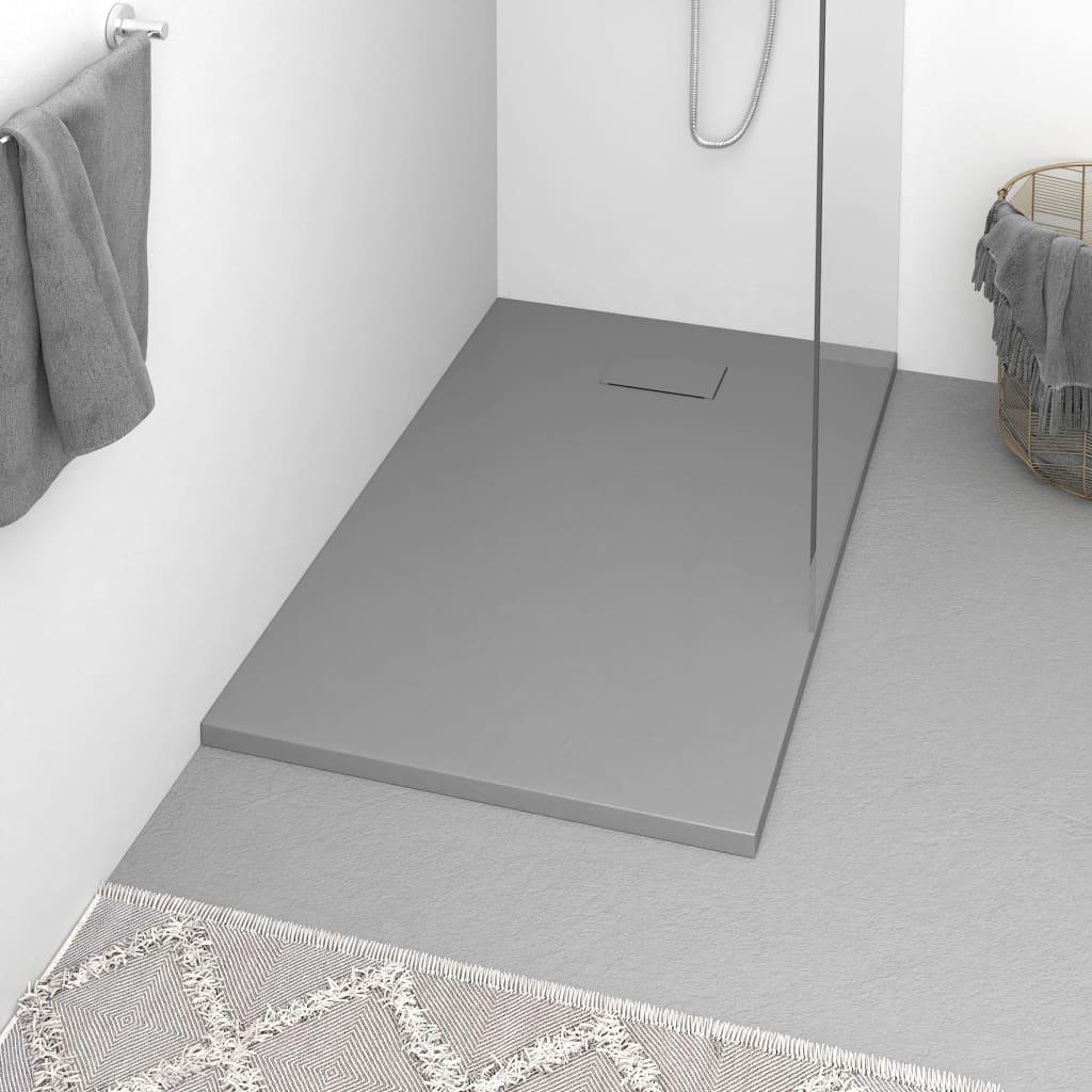 Duschwanne SMC Grau 120x70 cm