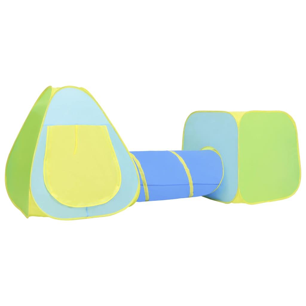Kinder-Spielzelt mit 100 Bällen Mehrfarbig