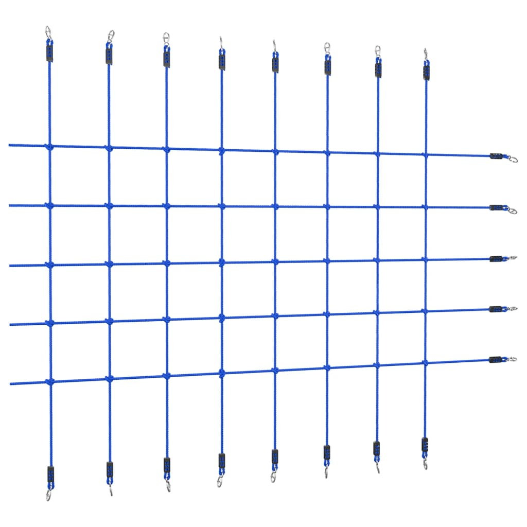 Kletternetz 200x150 cm Blau
