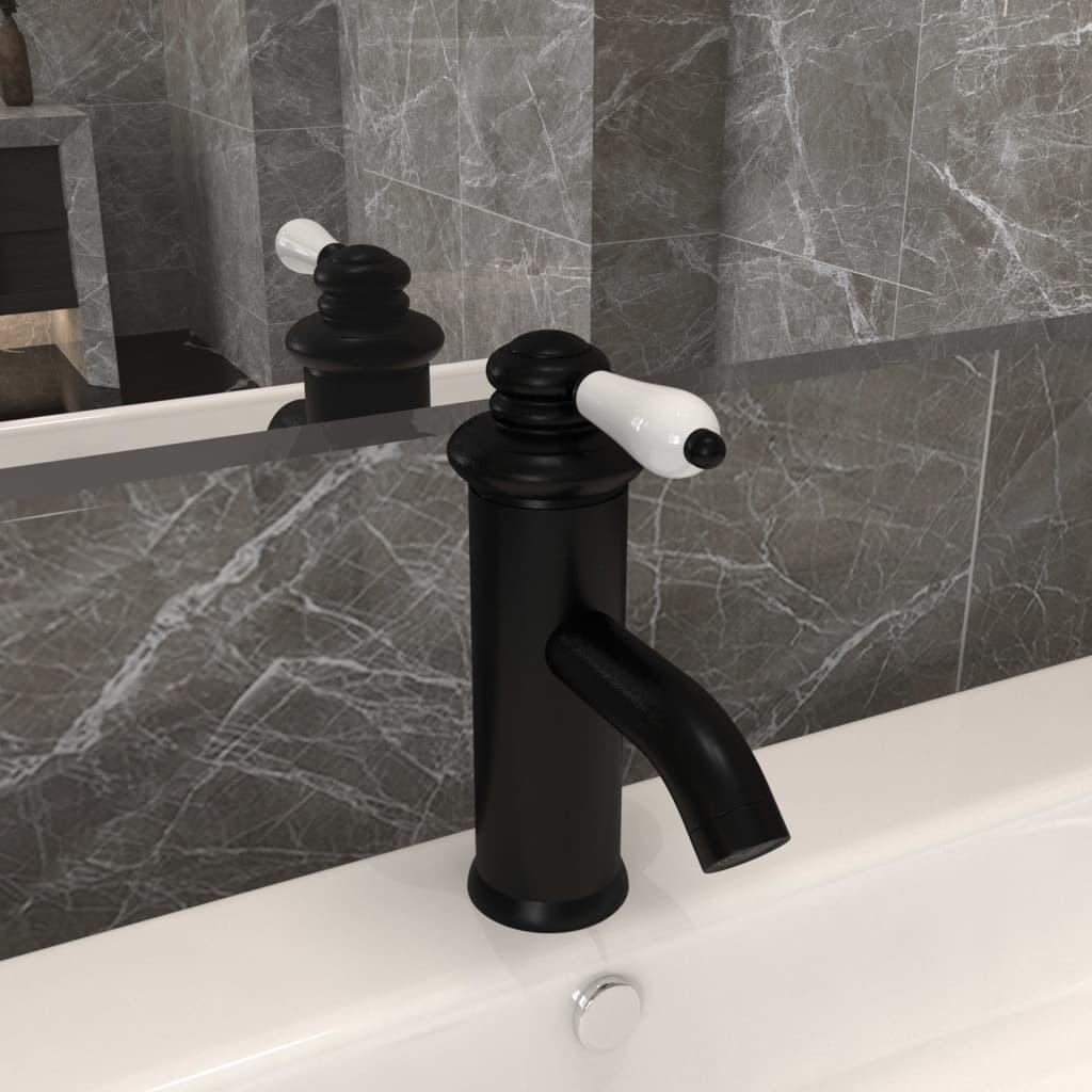 Waschtischarmatur Schwarz 130x180 mm