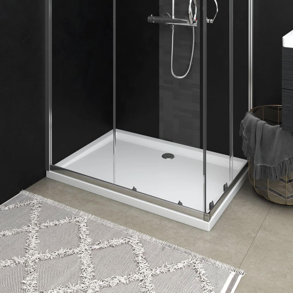 Duschtasse ABS Rechteckig Weiß 70x100 cm