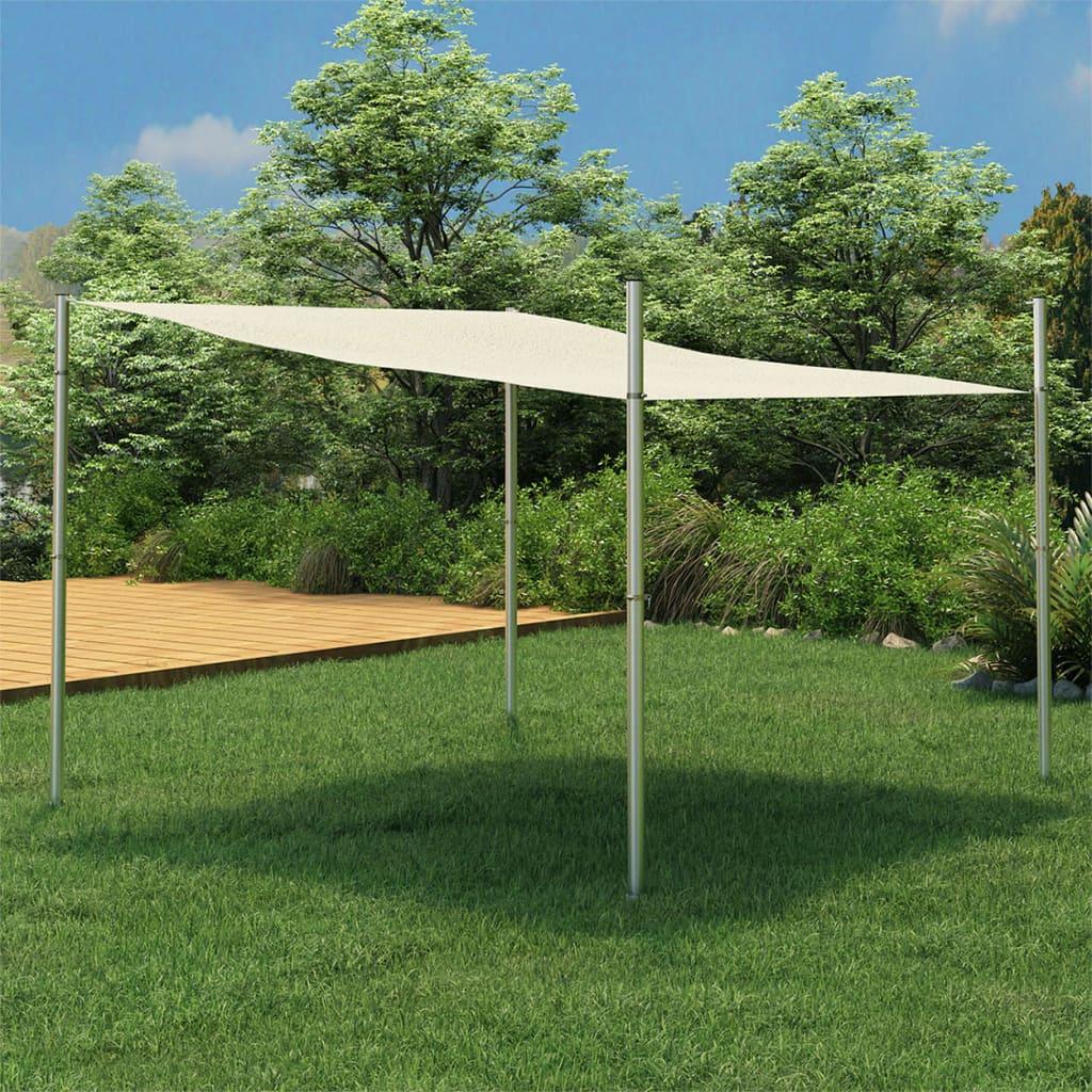 Sonnensegel-Stange 200 cm Edelstahl