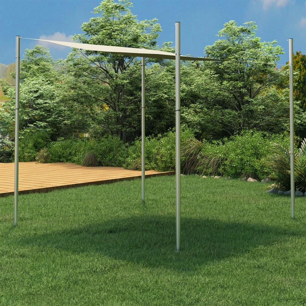 Sonnensegel-Stange 250 cm Edelstahl
