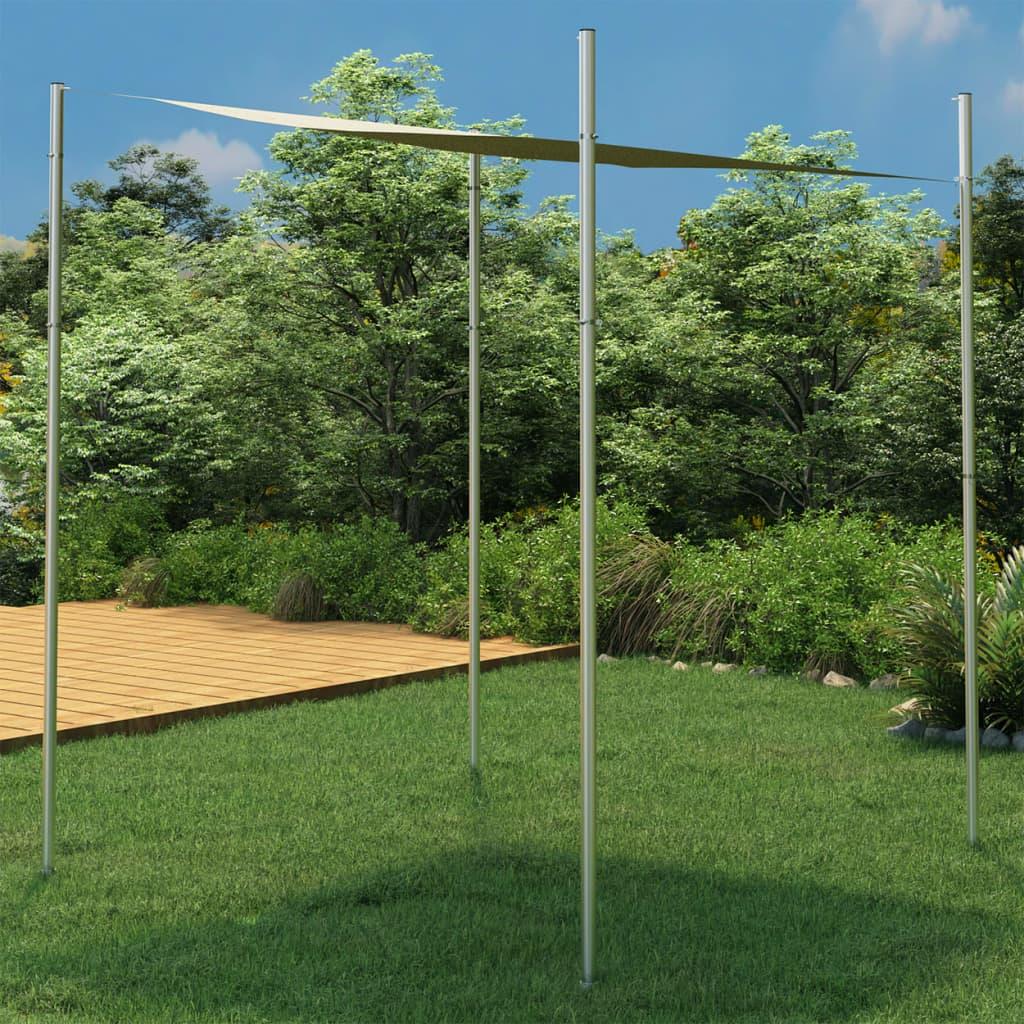 Sonnensegel-Stange 300 cm Edelstahl