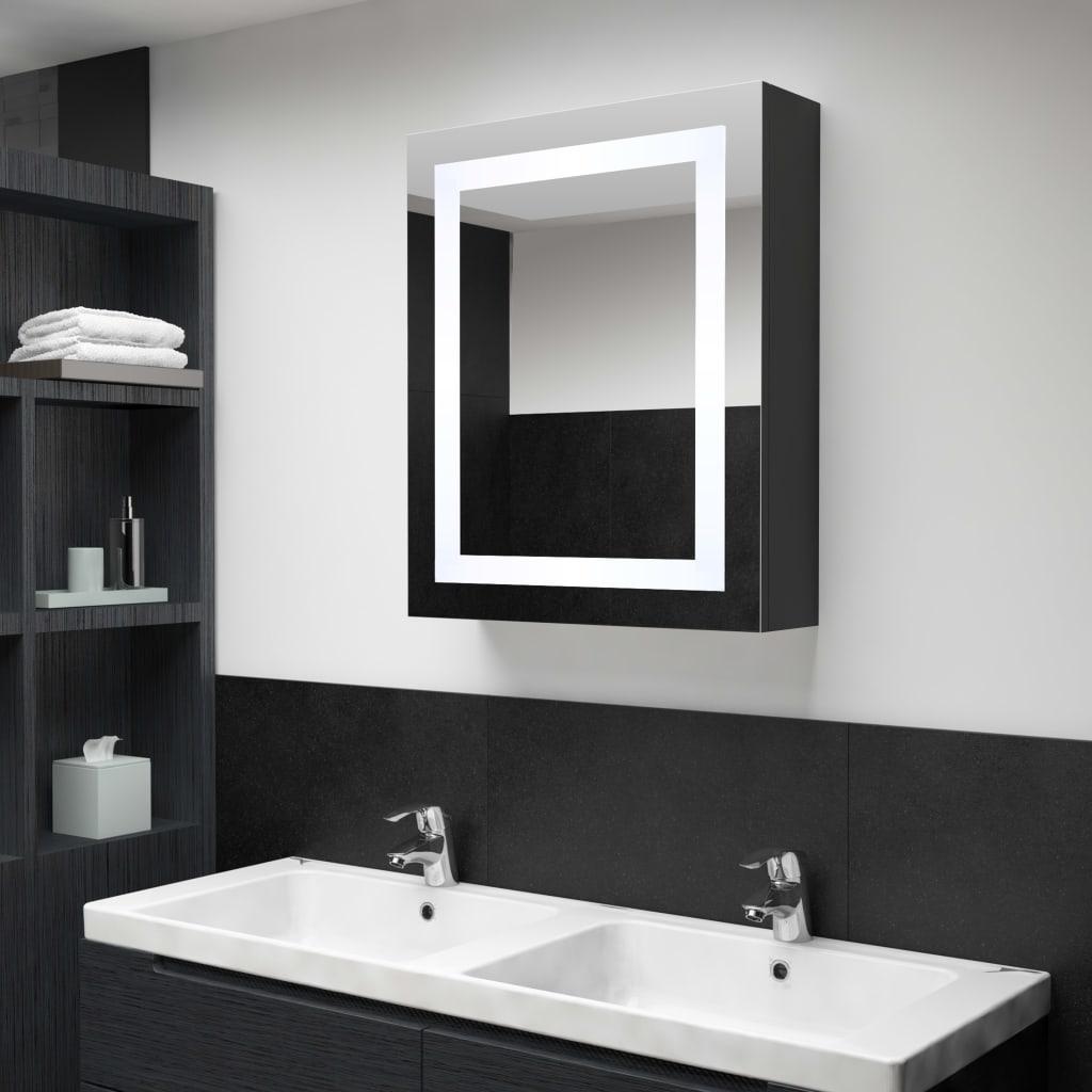 LED-Bad-Spiegelschrank 50x13x70 cm