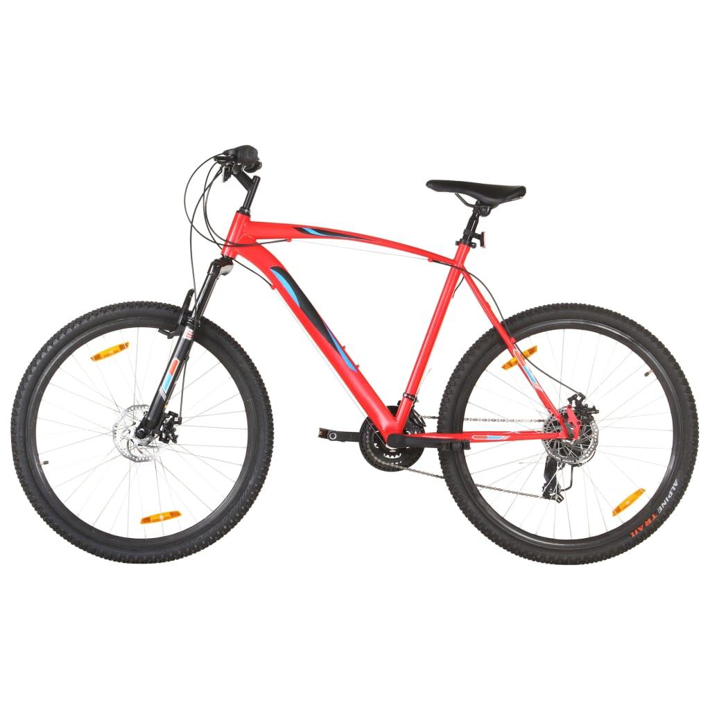 Mountainbike 21 Gang 29 Zoll Rad 58 cm Rahmen Rot