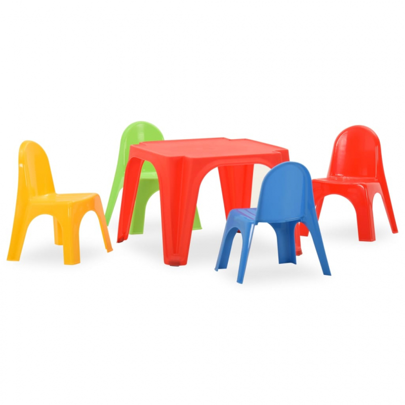 Tisch- und Stuhlset für Kinder PP