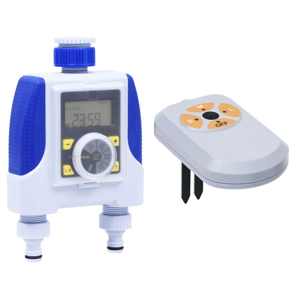 Elektronische Bewässerungsuhr 2-fach mit Feuchtigkeitssensor