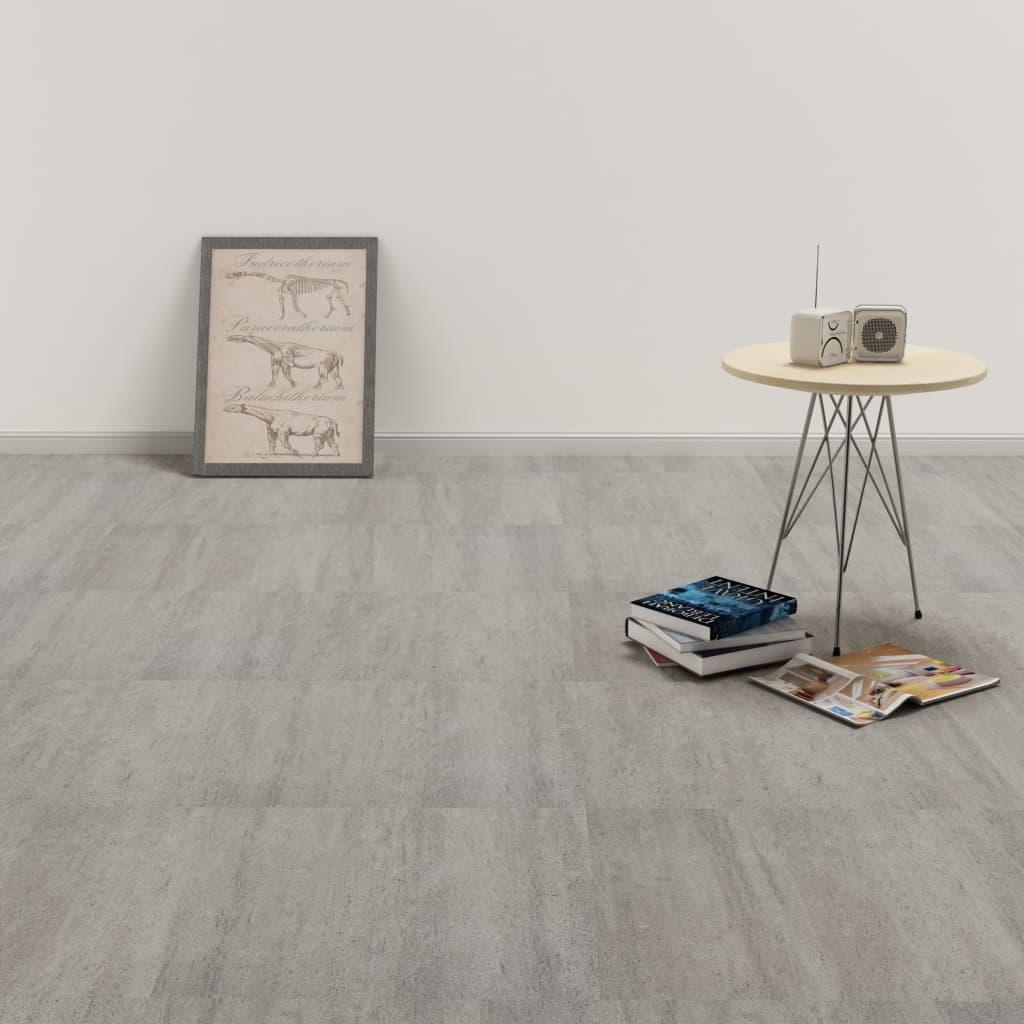 PVC-Fliesen Selbstklebend 20 Stk. 1,86 m² Grau gepunktet