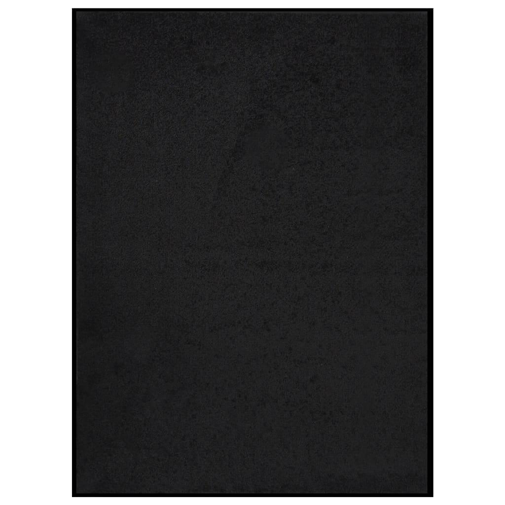 Fußmatte 60x80 cm Schwarz