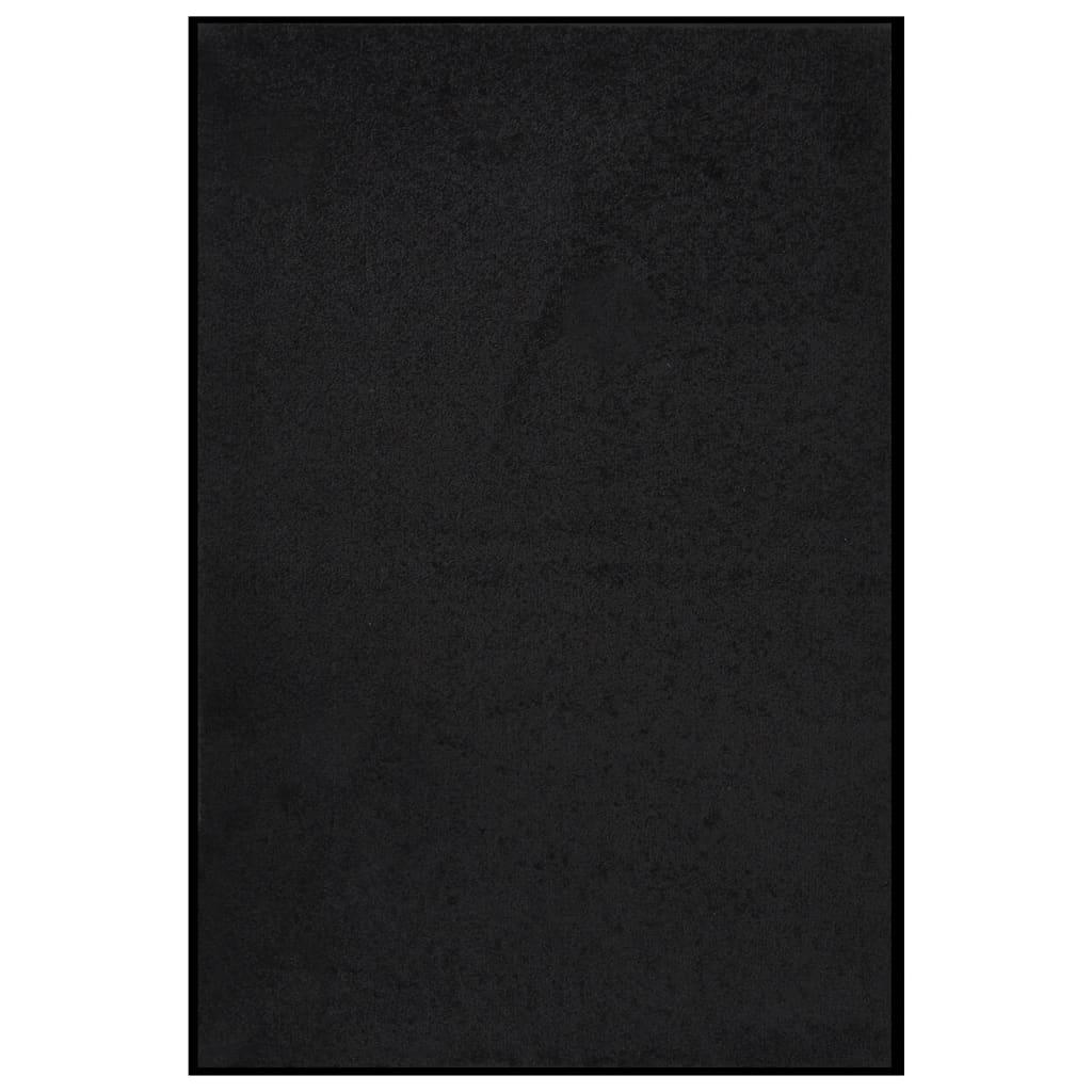 Fußmatte 80x120 cm Schwarz